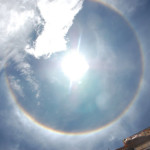 A Rainbow Ring over the Potala Palace