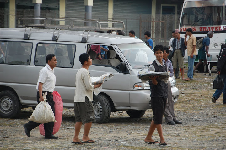 Nepal - Pokhara - Cinnamon Bun Sellers