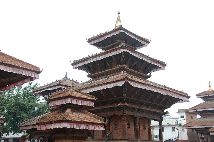 Nepal - Kathmandu - Durbar Square 1