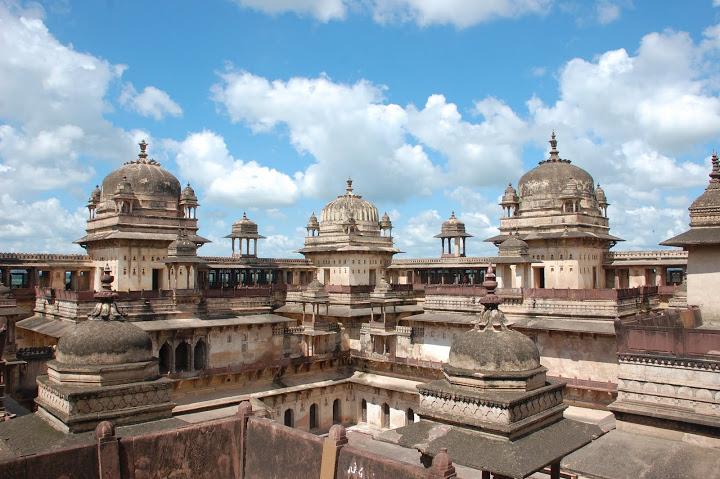 India - Orchha - Palace