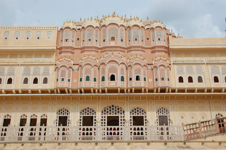 India - Jaipur - Haveli Facade