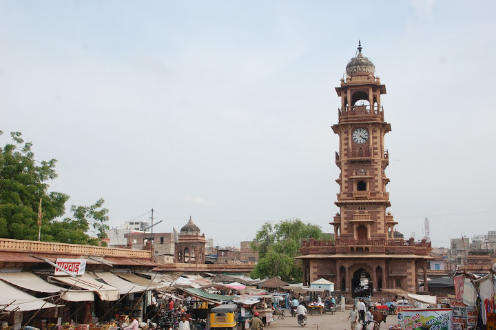 India - Jodhpur - The Clock Tower
