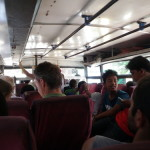 Riding the Nepali local bus