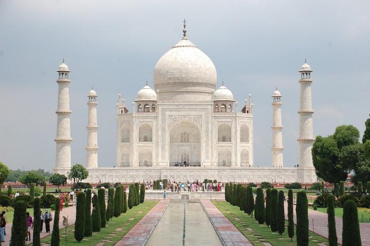 India - Agra - Taj Mahal 1