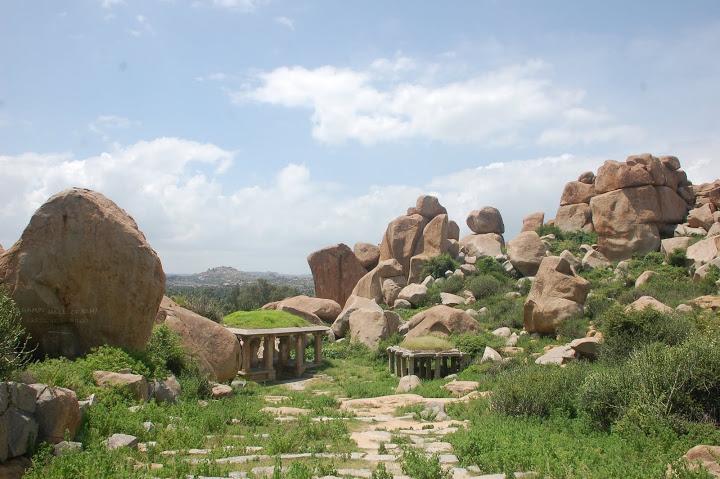 India - Hampi - Ruins 1