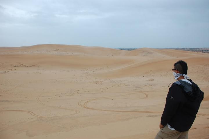 Vietnam - Mui Ne - White Sand Dunes