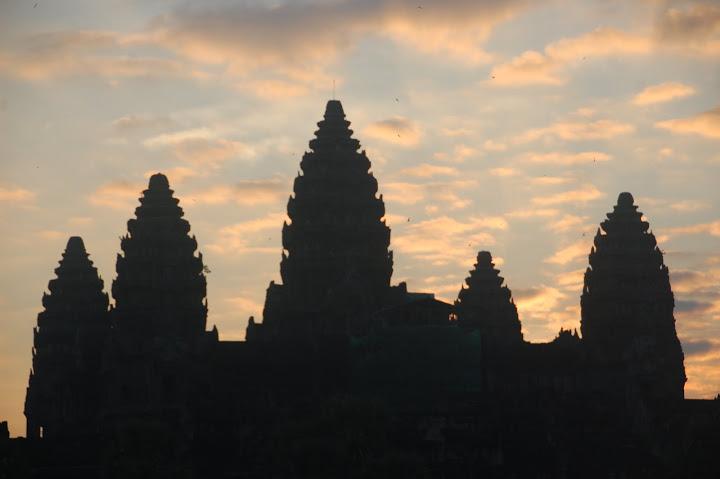 Cambodia - Angkor - Sunrise 1