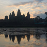 Thru the Lens: Sunrise Over Angkor Wat