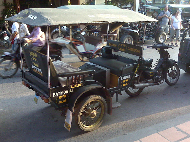 Cambodia - Siem Reap - Batmobile Tuk Tuk