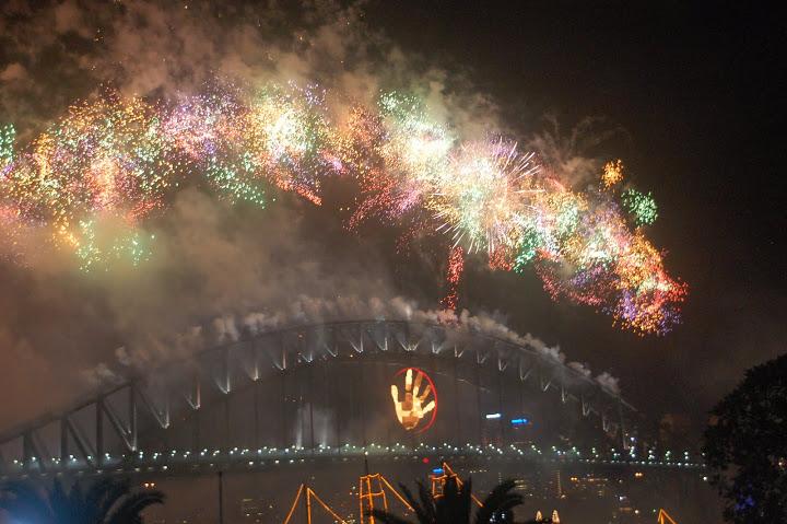 Australia - Sydney - NYE Fireworks 02