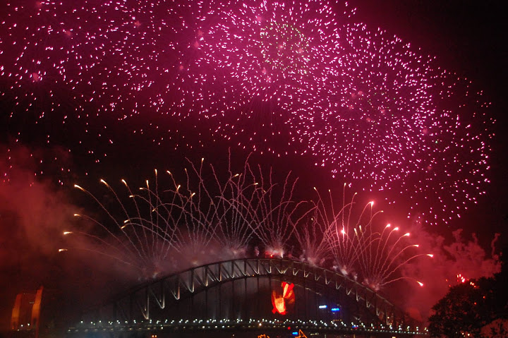 Australia - Sydney - NYE Fireworks 03