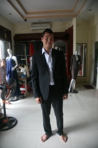 Vietnam - Hoi An - Custom Tailored Suit