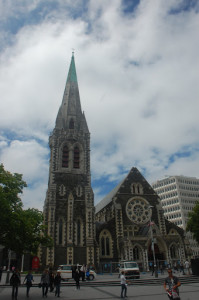 New Zealand - Christchurch - Cathedral