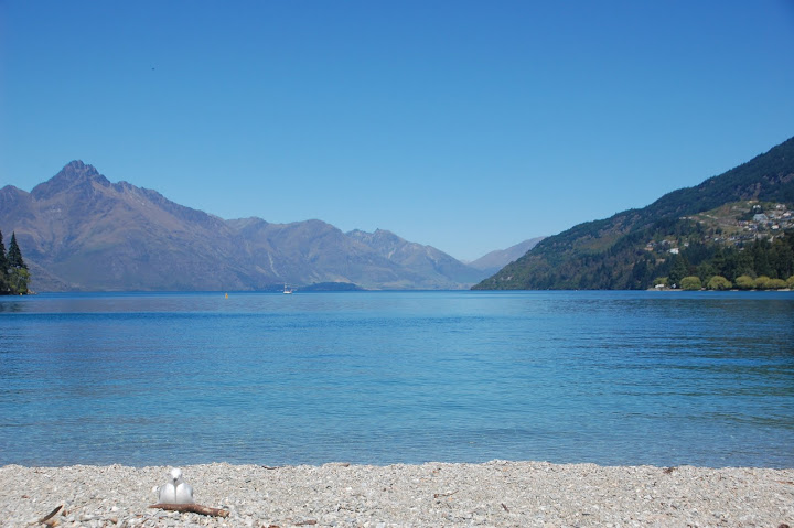 New Zealand - Queenstown - Beach