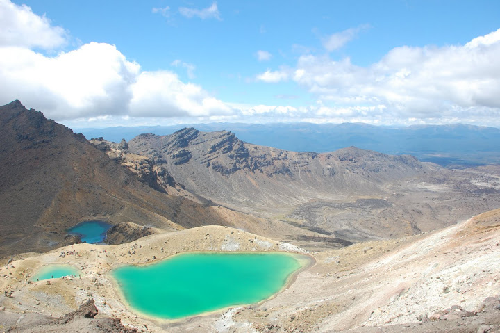 New Zealand - Tongariro - Emerald Lakes