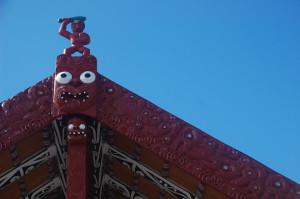 New Zealand - Rotorua - Maori Meeting Hall