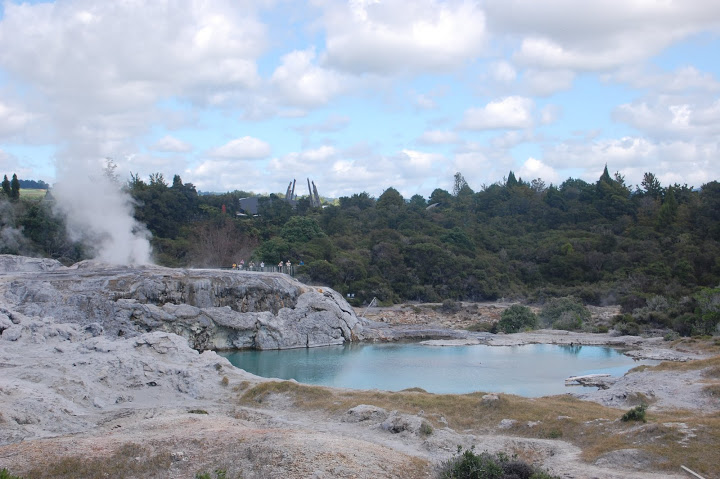 New Zealand - Rotorua - Hot Springs