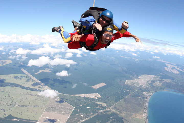 New Zealand - Taupo - Skydive