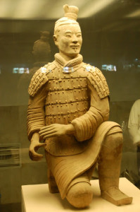 China - Xi'an - Intact Terracotta Warrior