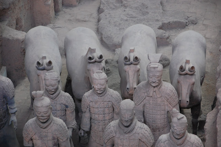 China - Xi'an - Terracotta Warriors Closeup