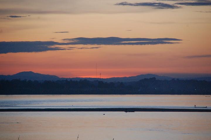 Laos - Vientiane - Mekong Sunset 2