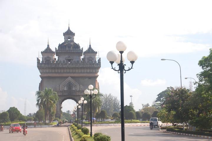Laos - Vientiane - Arc de Triomphe