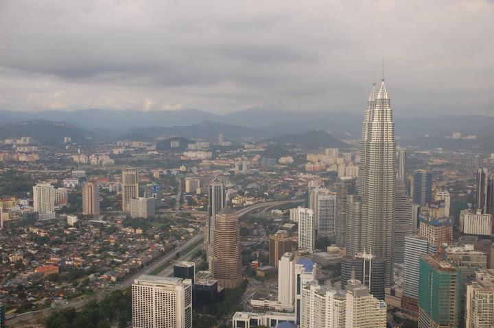 Malaysia - Kuala Lumpur - View from KL Tower 1
