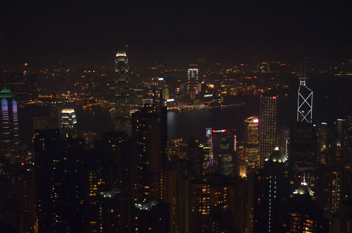 Hong Kong - View from Victoria Peak 2