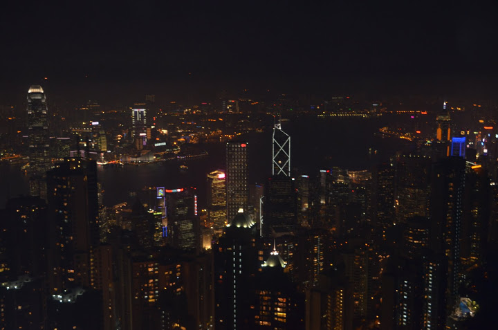 Hong Kong - View from Victoria Peak 1