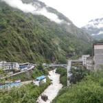 The Sino-Nepal Friendship Bridge