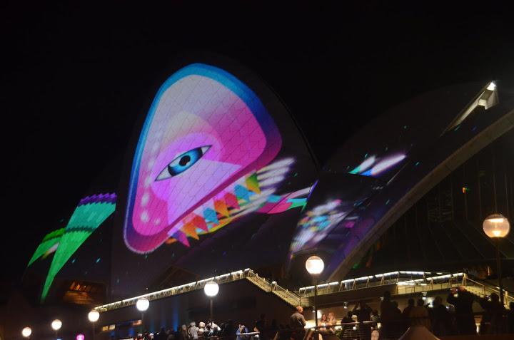 Australia - Sydney - 2011 Vivid Light Show 01