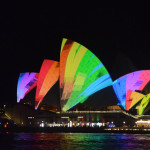 Thru the Lens: The Vivid Light Show in Sydney