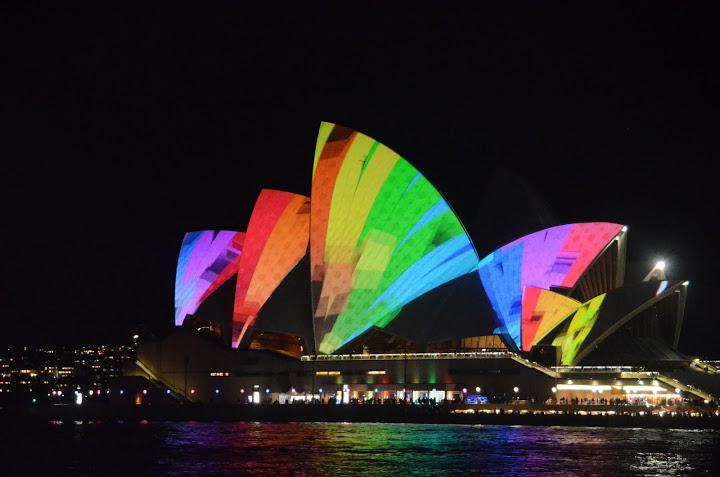Australia - Sydney - 2011 Vivid Light Show 03