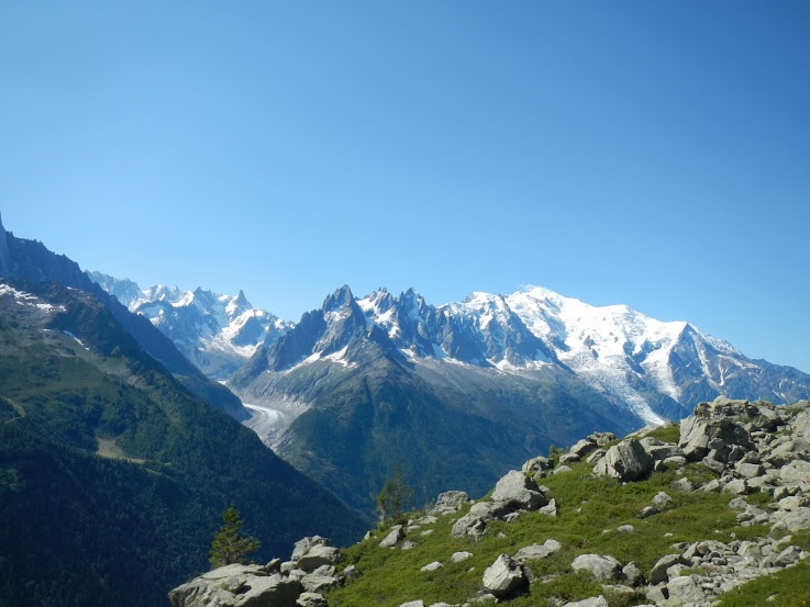 TMB - Day 7 - On the way to Lac Blanc