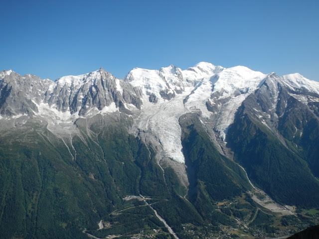 TMB - Day 7 - View from Le Brevent
