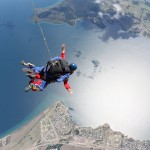 Skydive over Lake Taupo, New Zealand