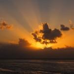 Sunset at the Split, Caye Caulker