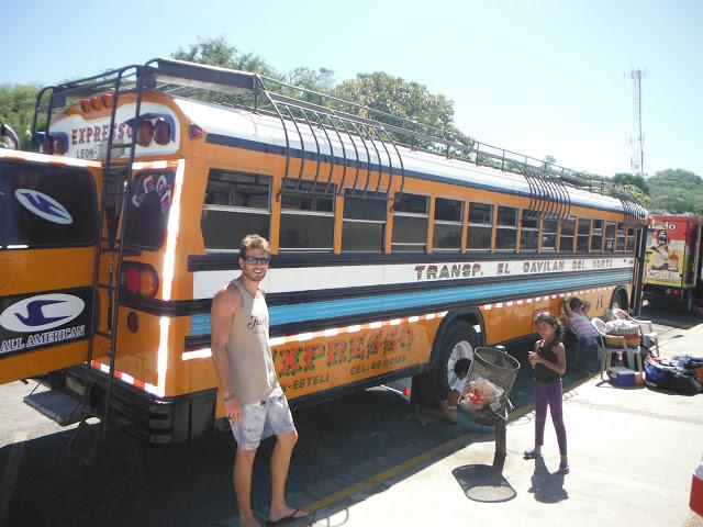 Nicaragua - Chicken Bus