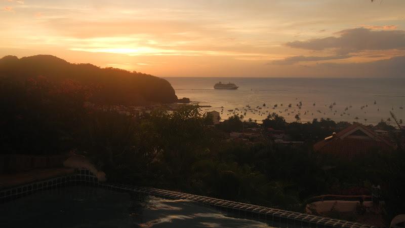 Nicaragua - San Juan del Sur - Sunset from Pelican Eyes 02