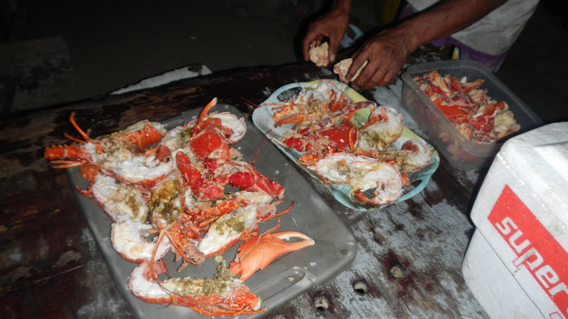 Panama - Sailing - Seafood Dinner