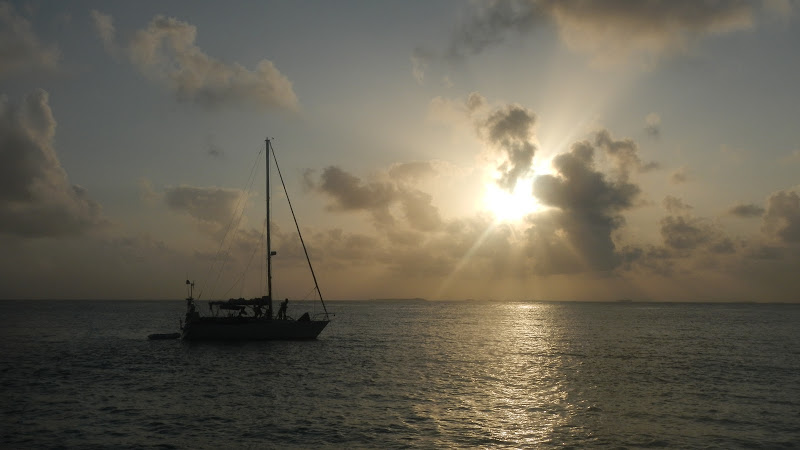 Panama - Sailing - Sunset