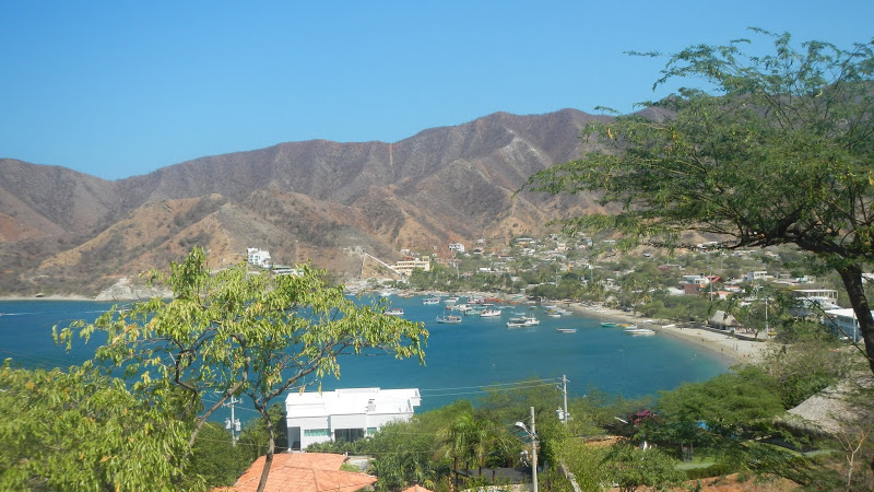 Colombia - Taganga - View from the hill