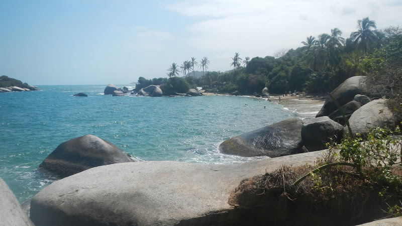 Colombia - Tayrona - Beach 2