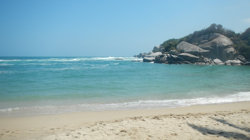 Colombia - Tayrona - Beach 3