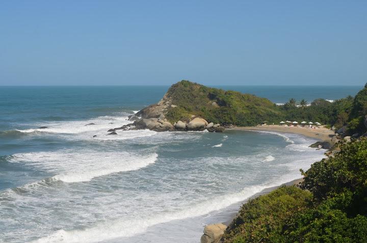Colombia - Tayrona - Beach Cabanas
