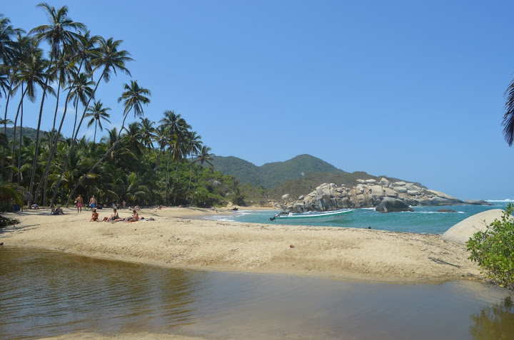 Colombia - Tayrona - Beach 1