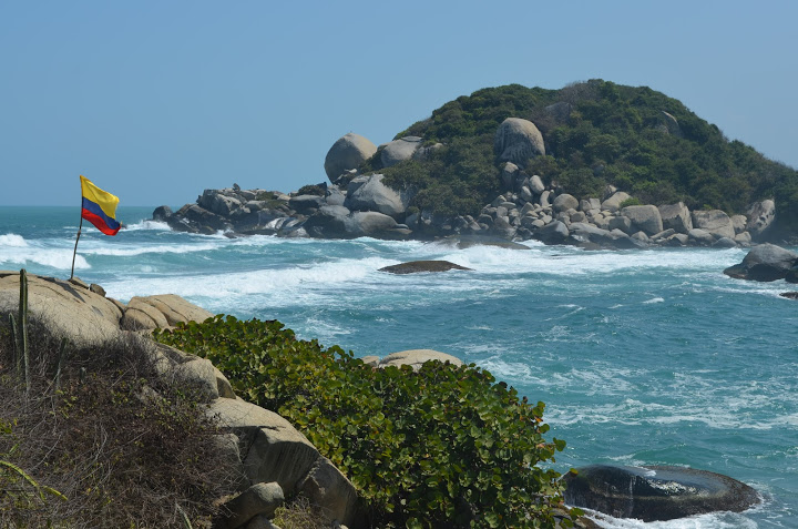 Colombia - Tayrona - Beach 4