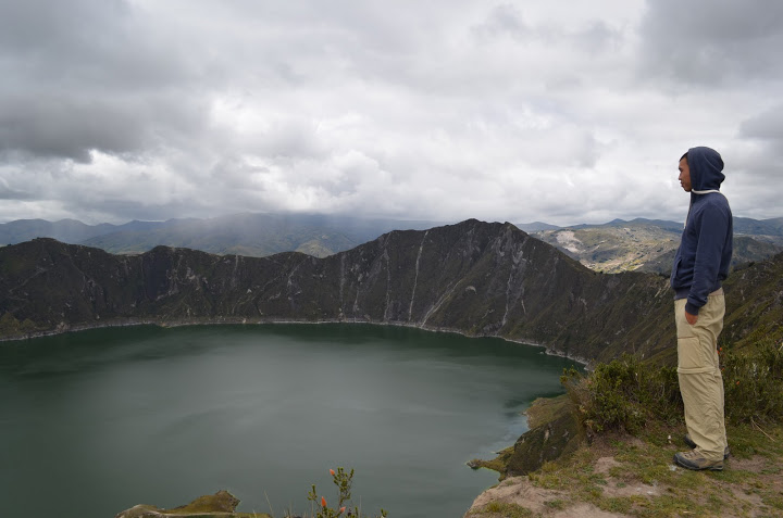 Ecuador - Quilotoa Loop - Crater Lake 2