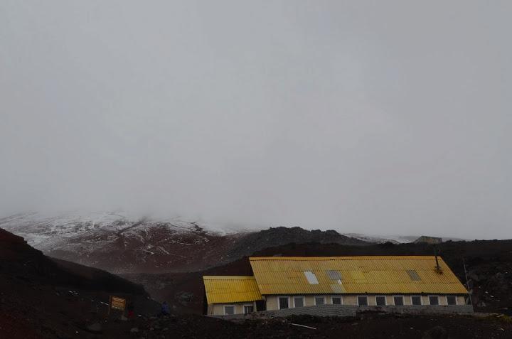 Ecuador - Cotopaxi - Refuge