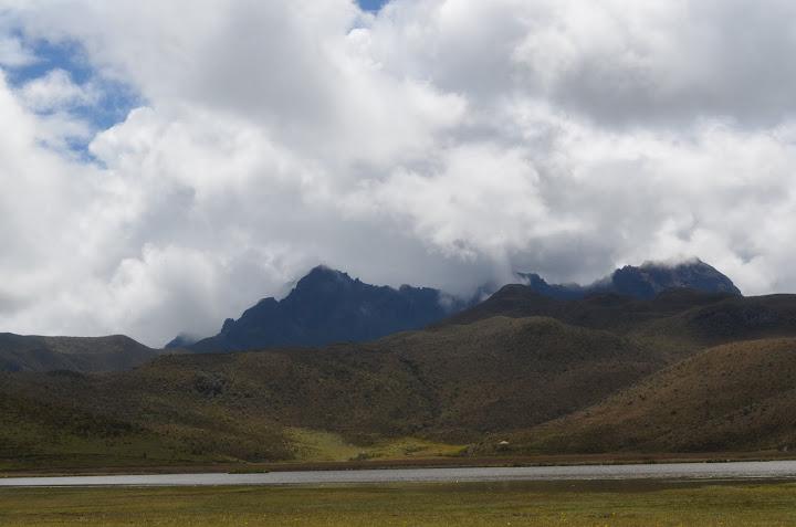 Ecuador - Cotopaxi - Lagoon